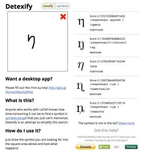 detexify